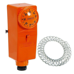 Anlegethermostat / Temperaturbegrenzer BRC mit Außen-Verstellung 20° bis 90°C