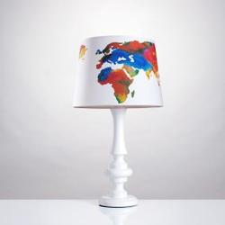 Tischlampe Weltkarte Groß