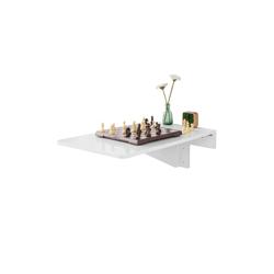 SoBuy Klapptisch FWT04, Wandklapptisch Küchentisch Wandtisch Esstisch Schreibtisch Weiß 70x45cm €3795