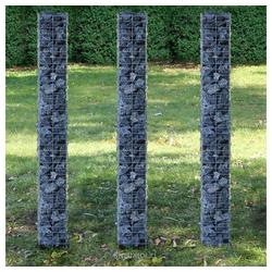 Pro-tec Drahtkorb (Set, 3er), Gabionen Steinkörbe 25x200cm