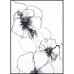 Poster FLOWER LINE 1 (BH 30x40 cm)