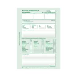 RNK Wohnungs Abnahmeprotokoll selbstdurchschreibend A4 2x2 Blatt