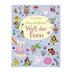 Malen und Stickern: Welt der Feen. Jessica Greenwell  - Buch