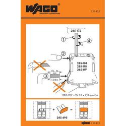 WAGO 210-422 Handhabungsaufkleber 100St.