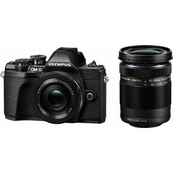 Olympus E-M10 Mark III DZK Systemkamera (Zuiko Digital ED, 17,2 MP, WLAN (Wi-Fi), HDR-Aufnahme) schwarz