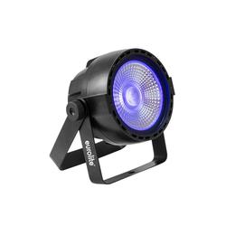EUROLITE Discolicht UV Schwarzlicht LED Strahler - DMX Ansteuerung - 40° Abstrahlwinkel - Musiksteuerung