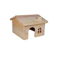TRIXIE Holzhaus für Kleinnager 15×11×15 cm