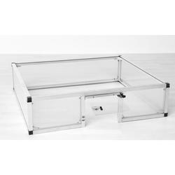 KGT Schildkröten-Unterbau für Frühbeet 100,aluminium blank,
