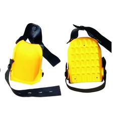 Hufa Fliesenleger Knieschoner Kastenform gelb
