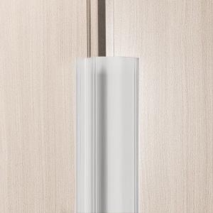 reer Fingerklemmschutz, für die Schanierseite der Tür, Sicherer Klemmschutz aus Kunststoff, Höhe: 180 cm