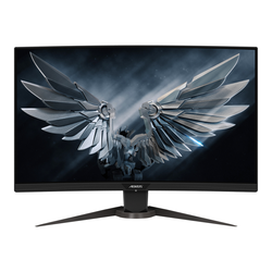 Gigabyte Aorus Curved Monitor CV27F - 68,6 cm (27 Zoll), LED Curved Monitor, VA-Panel, 165 Hz, 1 ms, DisplayPort