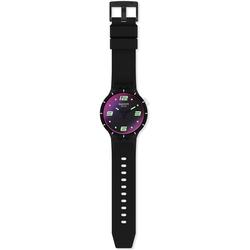 Swatch FUTURISTIC BLACK SO27B119 Unisexuhr