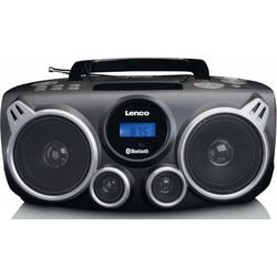 2 Stück Lenco UKW-Radio CD/MP3 tragbar SCD-685 BK