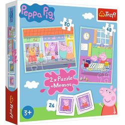 2in1 Puzzles + Memo - Peppa Pig (Puzzle)