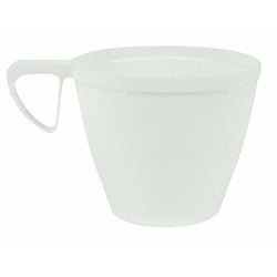 Alufix Coffee & Tea Kaffeetasse PS DM 78 mm 180 ml weiß, 10 Stk.