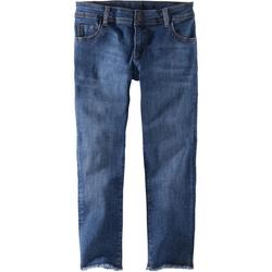 Jeans Fransen, blau, Gr. 158 - 158 - blau