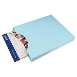 STYLEX® Heftbox, DIN A4, oben offen, Offene Abheftbox, eingreifbar, farbig sortiert