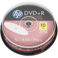 HP DVD+R DL Rohling 8.5GB 10 St. Spindel Bedruckbar