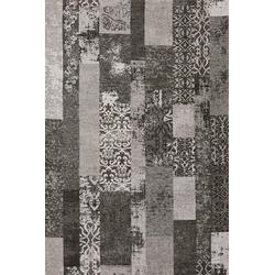 Teppich MARAKESCH grau (BL 80x250 cm)