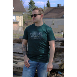 VOLCANO T-Shirt T-Route grün M