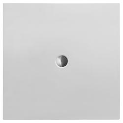 Duravit Quadrat-Duschwanne weiss, 120 x 120 x 3,5 cm, bodenbündig