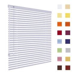 Alu-Jalousien, Jalousien, Horizontaljalousien, Farbe weiss, auf Mass gefertigt oder in Standardgrössen, weitere 100 Farben verfuegbar