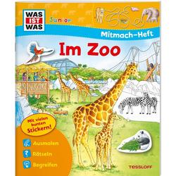 WAS IST WAS Junior Mitmach-Heft Zoo: Buch von Tatjana Marti