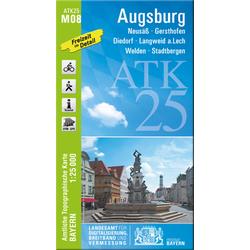 Augsburg 1 : 25 000
