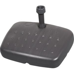 Doppler Balkonfüllschirmständer für Rohr bis 33 mm, 17 Liter/ Sand 20 kg,anthrazit,
