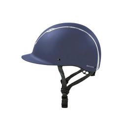 BUSSE Schutzhelm BUSSE Reithelm COLMAR blau M-L (57-59 cm)
