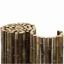 Bambusmatte Black Bambus Sichtschutz Ø ca. 20-35mm