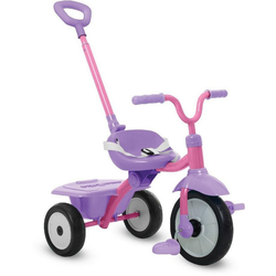 smarTrike® Dreirad Folding Fun, pink, mit Schubstange