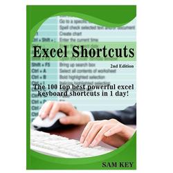 Excel Shortcuts als Buch von Sam Key