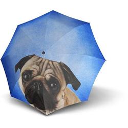 doppler® Taschenregenschirm Lazy Dog