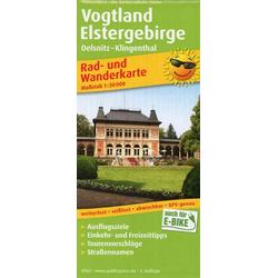 Vogtland - Elstergebirge 1:50 000