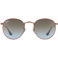 Ray Ban Round Metal RB3447 900396 50-21 bronze-copper/blue/brown gradient
