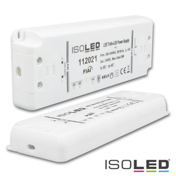 ISOLED LED Trafo 24V/DC, 0-50W, ultraflach, SELV ISO-112021