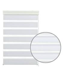 Doppelrollo Doppelrollo mit Kassette weiß 140 x, GARDINIA