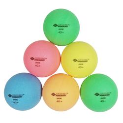 Schildkröt Tischtennisschläger Tischtennisball Colour Popps, 6 farbige Bälle in Poly 40+ Qualität