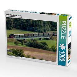 Auf der Streitberger Brücke Lege-Größe 64 x 48 cm Foto-Puzzle Bild von reinhold möller Puzzle