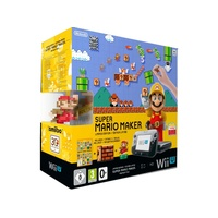 Nintendo Wii U Premium Pack 32GB + Super Mario Maker (Bundle)