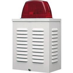 Alarmanlagen Signalgeber 12V mit LED-Blitz