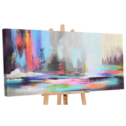 YS-Art Gemälde Nordlicht 2 111