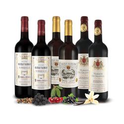 Bordeaux-Genusspaket 6 Flaschen