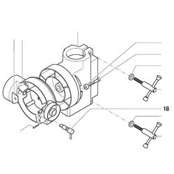 PROXXON 20000-18 Umschalter Bohren-Fräsen für Bohr- und Fräsbank BFB2000