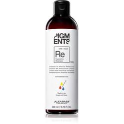 Alfaparf Milano Pigments stärkendes Shampoo für beschädigtes Haar für eine leuchtendere Haarfarbe 200 ml