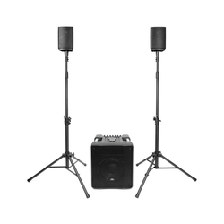 Vyrve Audio Vyrve Audio MIZAR PA-System mit Mixer und Stativen Audio-System