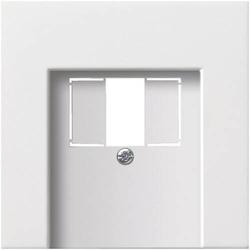 GIRA Abdeckung TAE-Steckdose, USB-Steckdose Flächenschalter Reinweiß 0276112