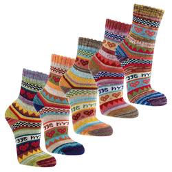 Socks 4 Fun Norwegersocken Hygge Socken (3-Paar) 39-42