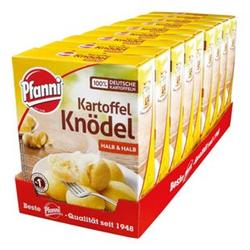 Pfanni Kartoffelknödel halb & halb 200 g, 9er Pack